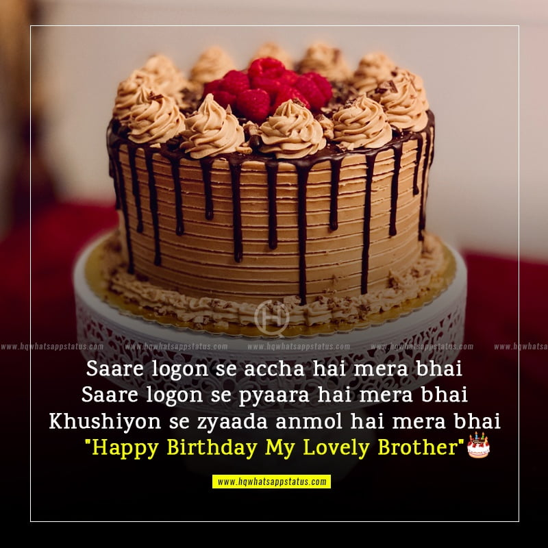 birthday wishes for elder brother in hindi