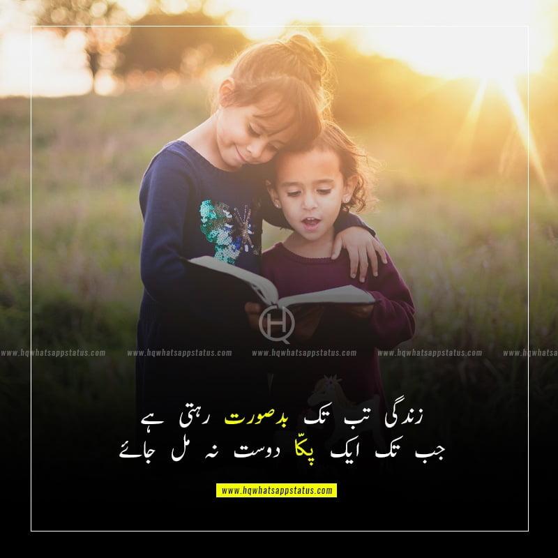 friendship love poetry in urdu