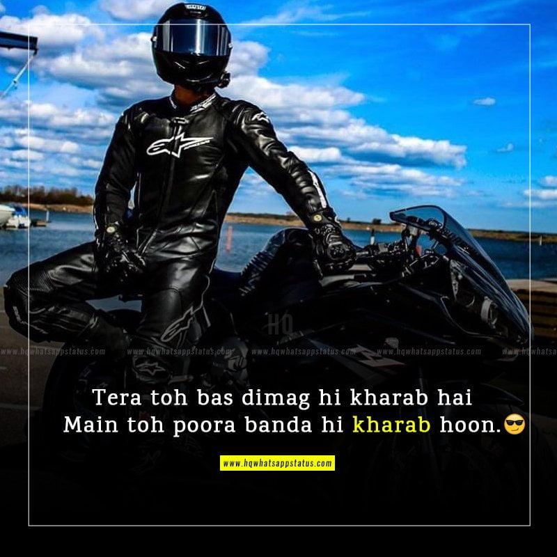 funny attitude status in hindi pics