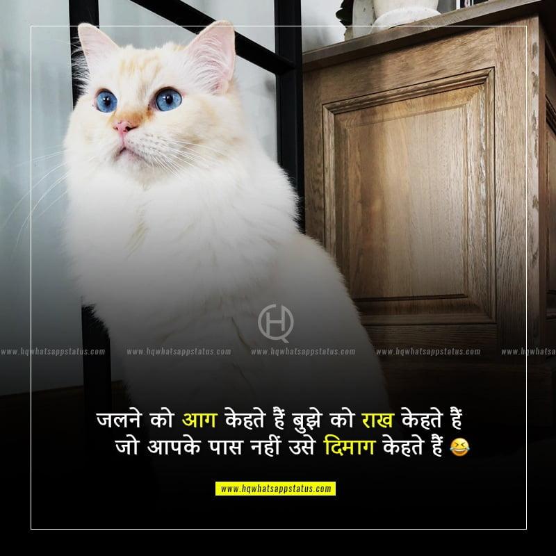 hindi funny status lines