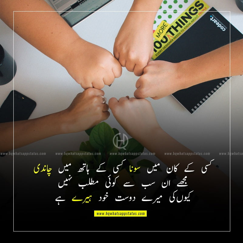quotes about friendship and trust in urdu