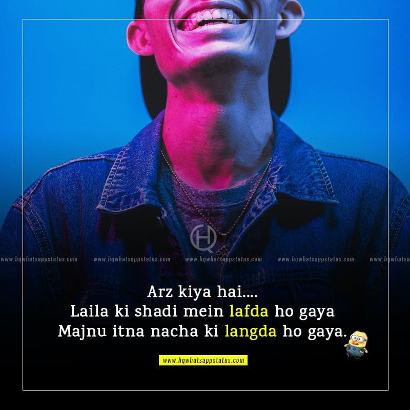 status in hindi funny