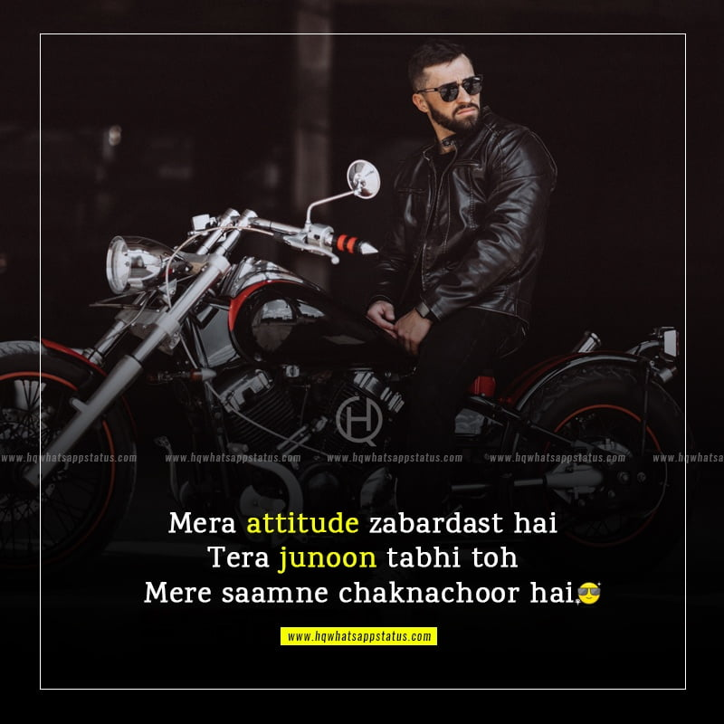 top attitude status in hindi