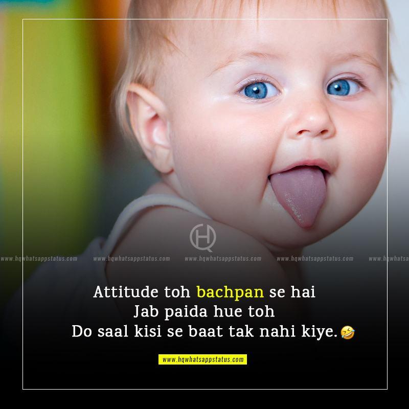 whatsapp attitude status in hindi funny