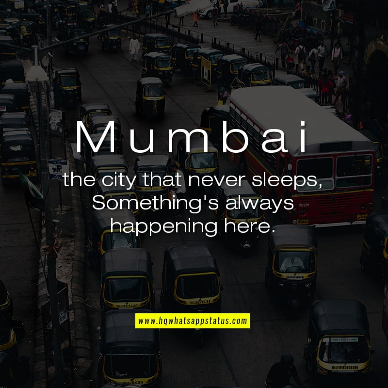 Mumbai City Quotes