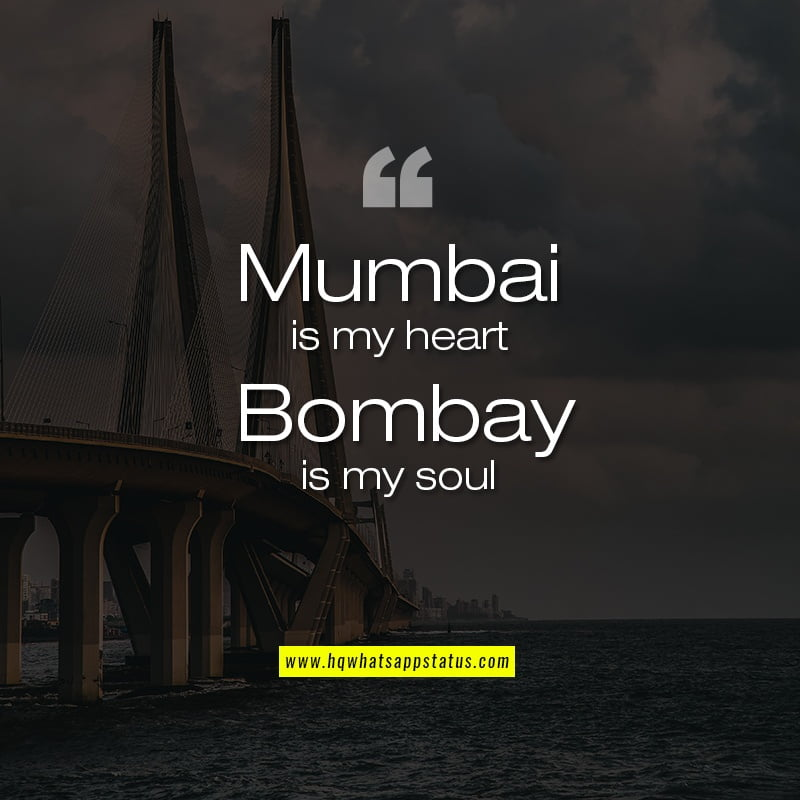 Best Mumbai Quotes