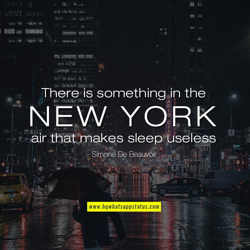 NYC Quotes on Life