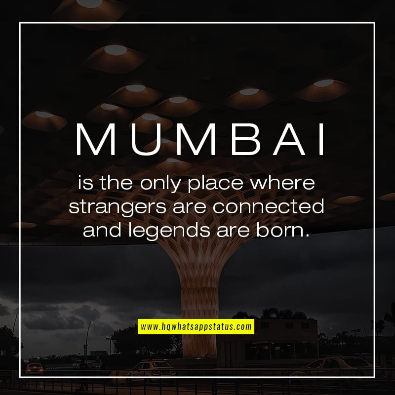 Quotes on Mumbai Life