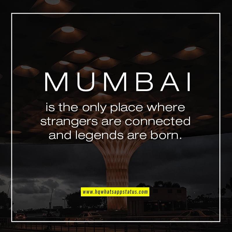 Quotes on Mumbai Life
