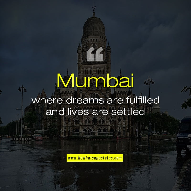Quotes on Mumbai