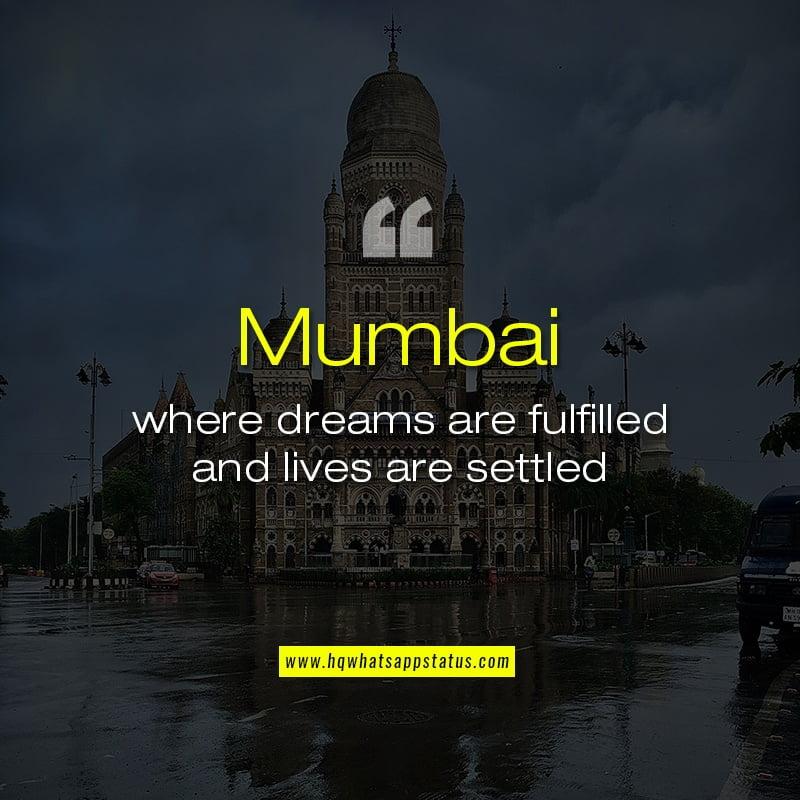 Quotes on Mumbai