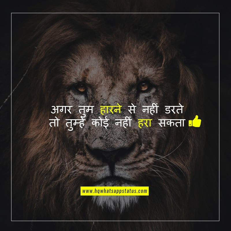 best motivational status in hindi 1
