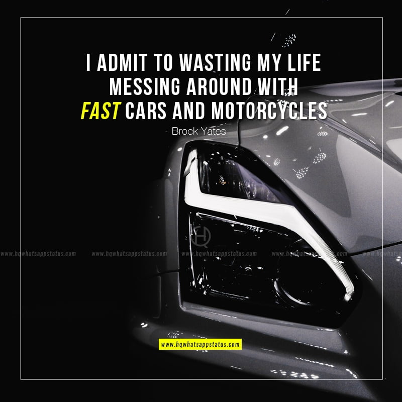 fast car quotes