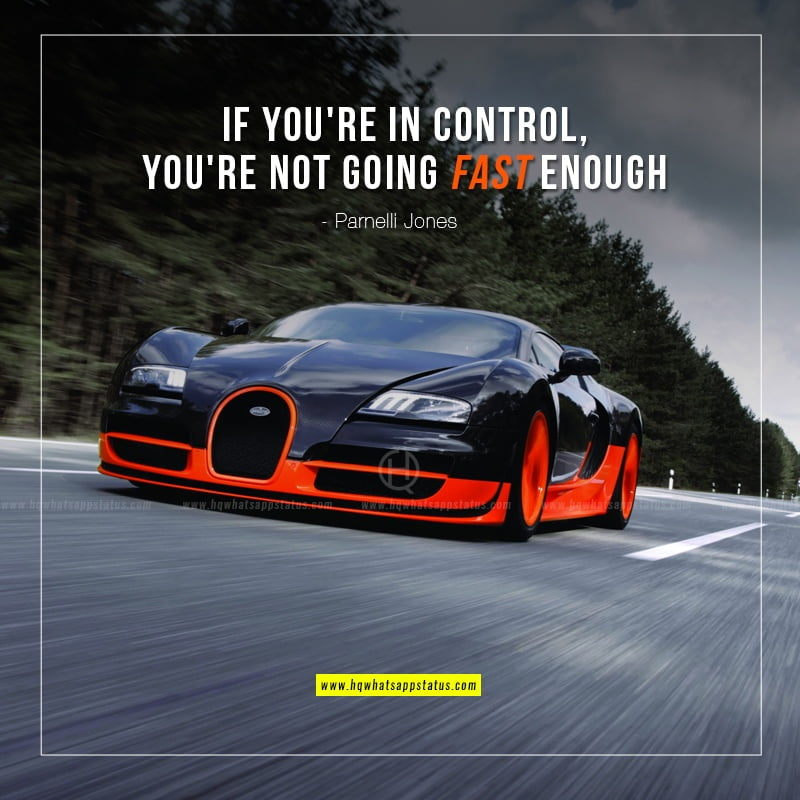 fast cars quote