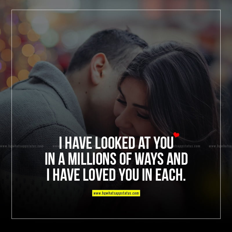 status on love in english