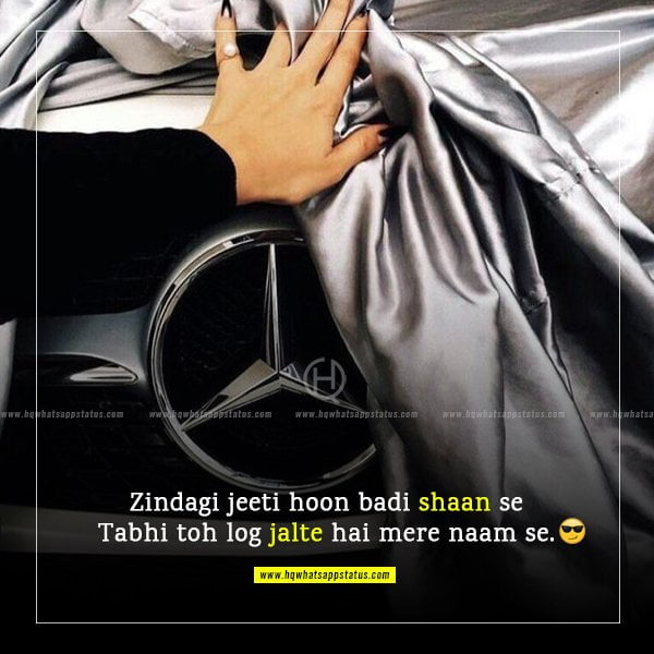 girl attitude status in hindi image download