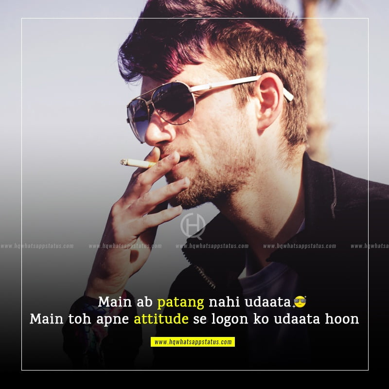 attitude quotes for boys about love in hindi