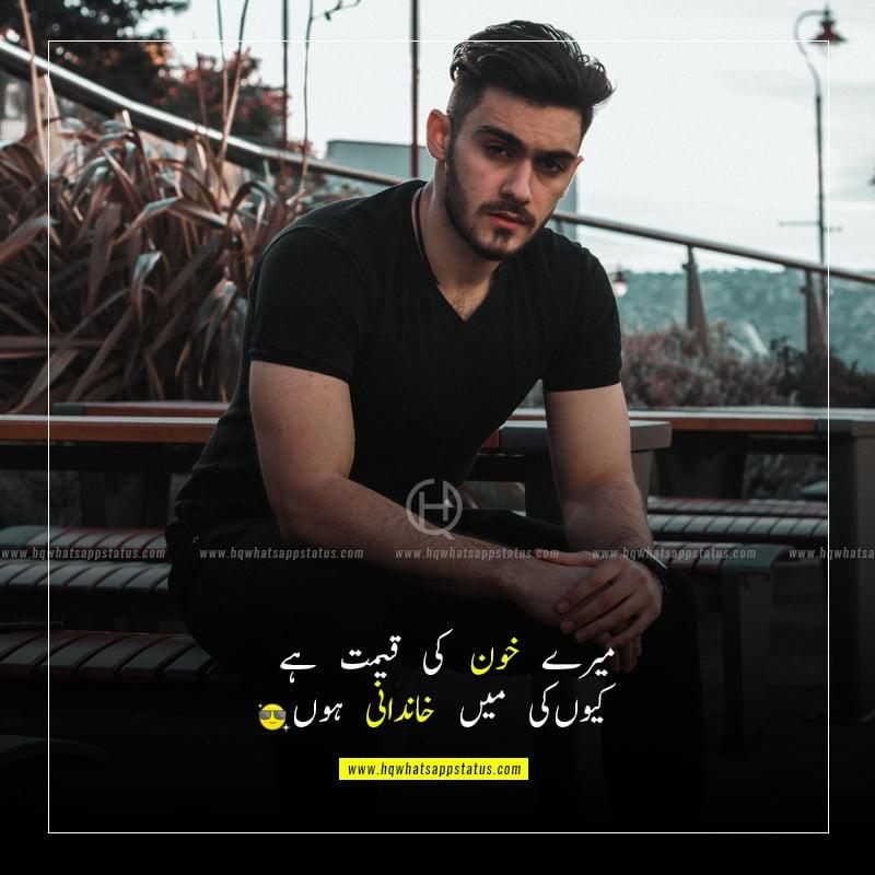 attitude quotes in urdu funny