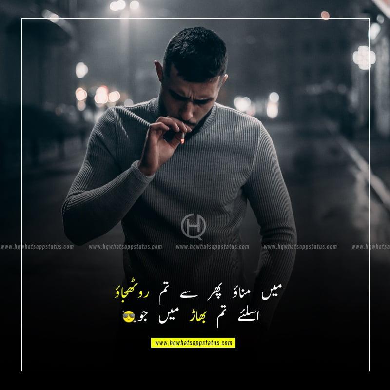boys attitude quotes in urdu