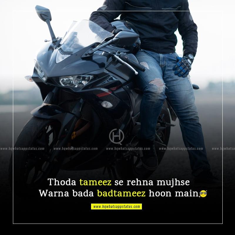 hindi attitude quotes in english