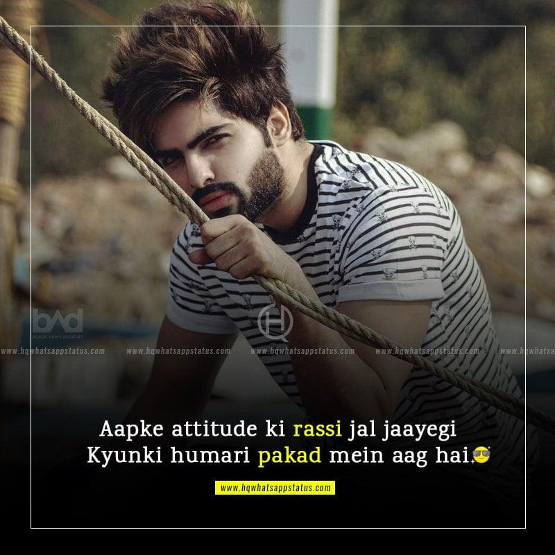 new attitude quotes in hindi