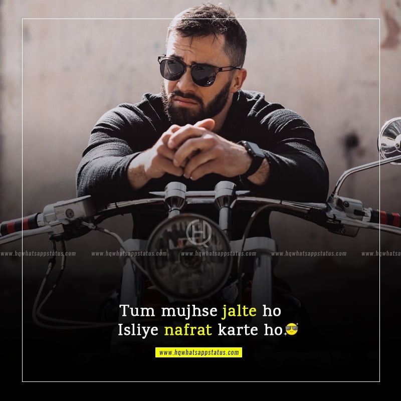 quotes in hindi on attitude