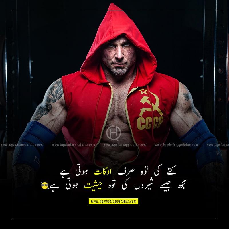 sad attitude quotes in urdu