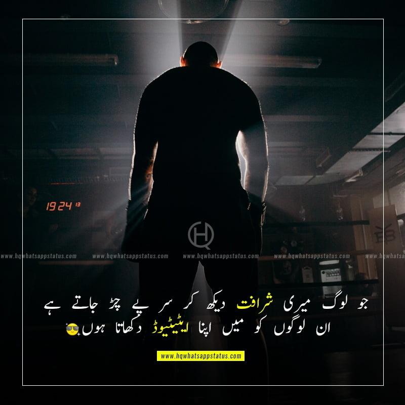 urdu quotes on attitude