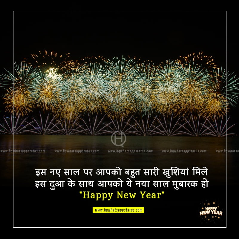 wishes for new year in hindi