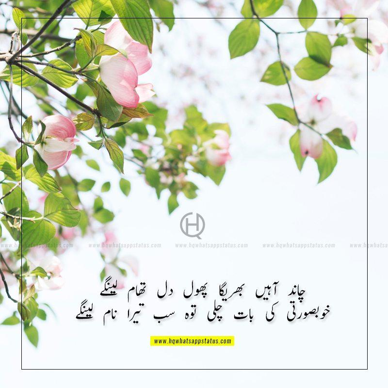 2 line tareef shayari in urdu