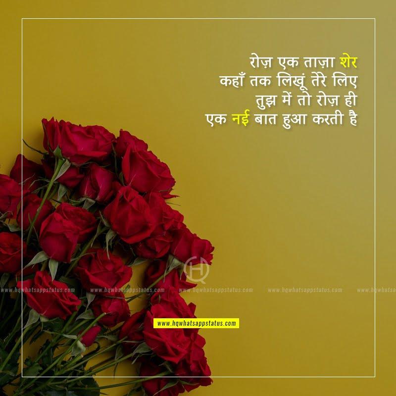 hindi shayari on girls beauty