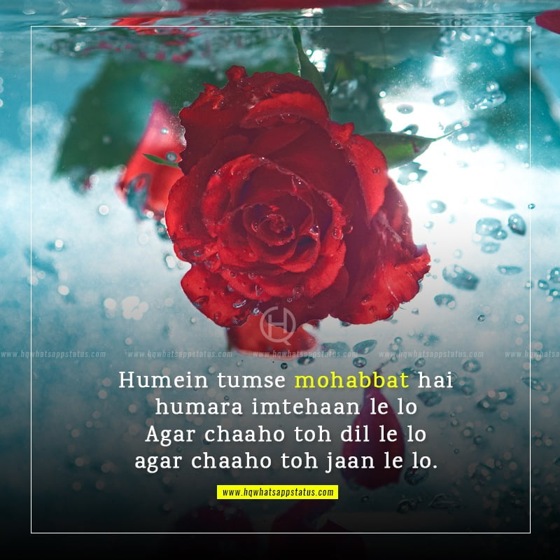 hindi shayari romantic