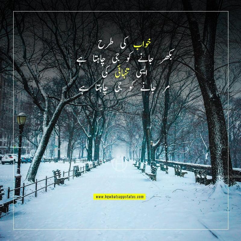 tanhai poetry in urdu facebook