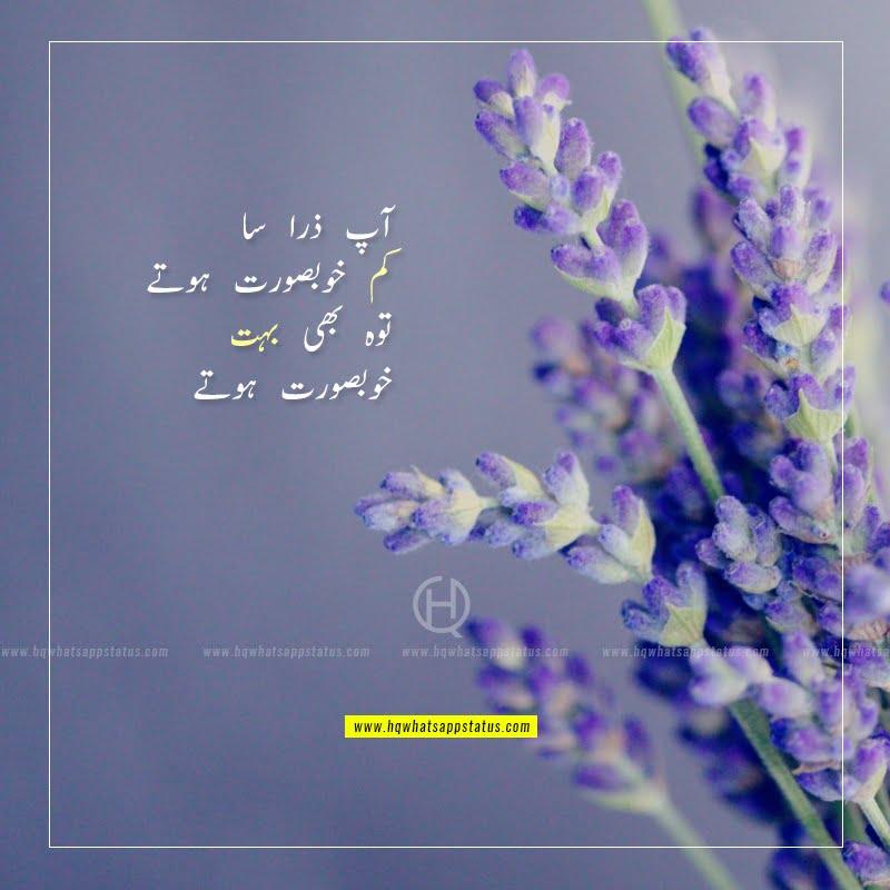 urdu poetry about beauty